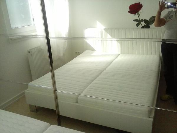 segm ller bett wei in sehr guter zustand zu verkaufen in frankfurt betten kaufen und. Black Bedroom Furniture Sets. Home Design Ideas