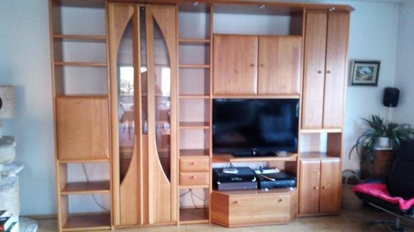 beleuchteter schrankwand neu und gebraucht kaufen bei. Black Bedroom Furniture Sets. Home Design Ideas