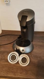 Senseo Kaffeepadmaschine metallic-