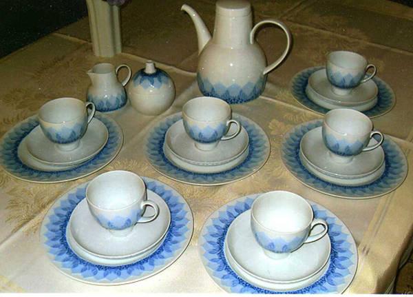 service lotus rosenthal madras blau in gl ckstadt. Black Bedroom Furniture Sets. Home Design Ideas