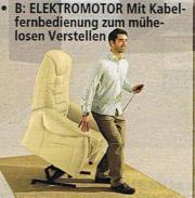 Sessel - elektrisch - Leder -
