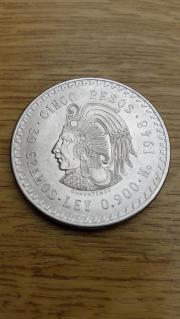 Silbermünze Mexico