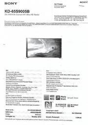 sony 3d tv gebraucht kaufen 2 st bis 65 g nstiger. Black Bedroom Furniture Sets. Home Design Ideas