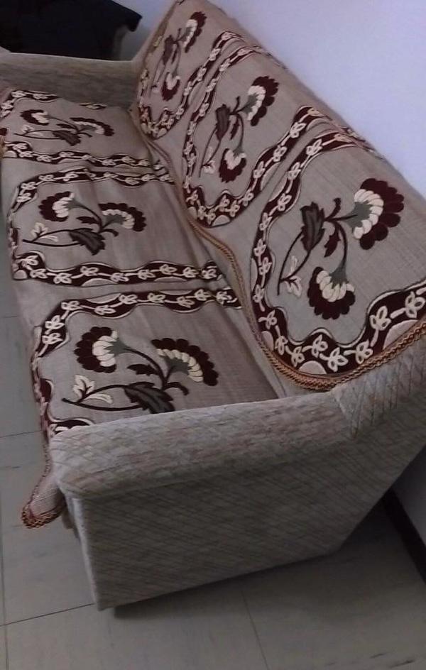 sofa mit 2 sessel mit decke in ludwigshafen polster sessel couch kaufen und verkaufen ber. Black Bedroom Furniture Sets. Home Design Ideas