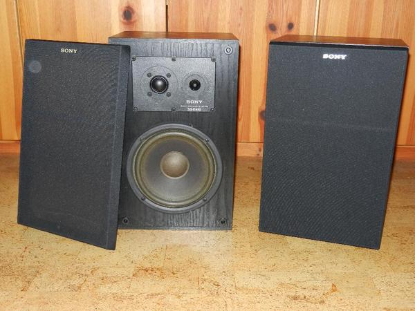 sony ss e410 3 wege lautsprecher in neuwertigem zustand in gro gerau boxen lautsprecher. Black Bedroom Furniture Sets. Home Design Ideas
