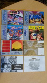 Spieleanleitungen Sega Game