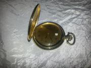 Sprungdeckel-Quarzuhr,vergoldet,