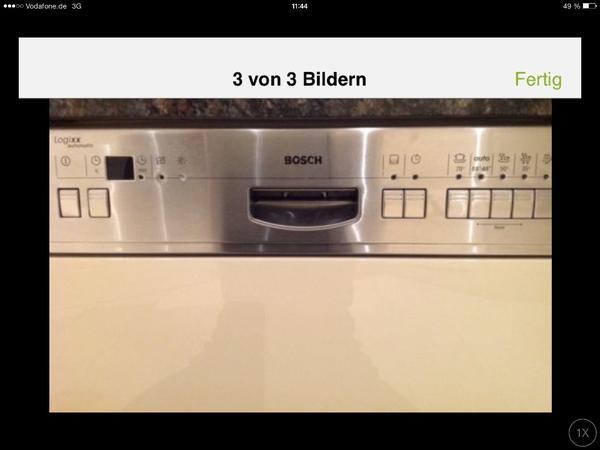 sp lmaschine bosch logixx automatic in heroldsberg geschirrsp ler kaufen und verkaufen ber. Black Bedroom Furniture Sets. Home Design Ideas