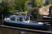 Stahlkajütboot