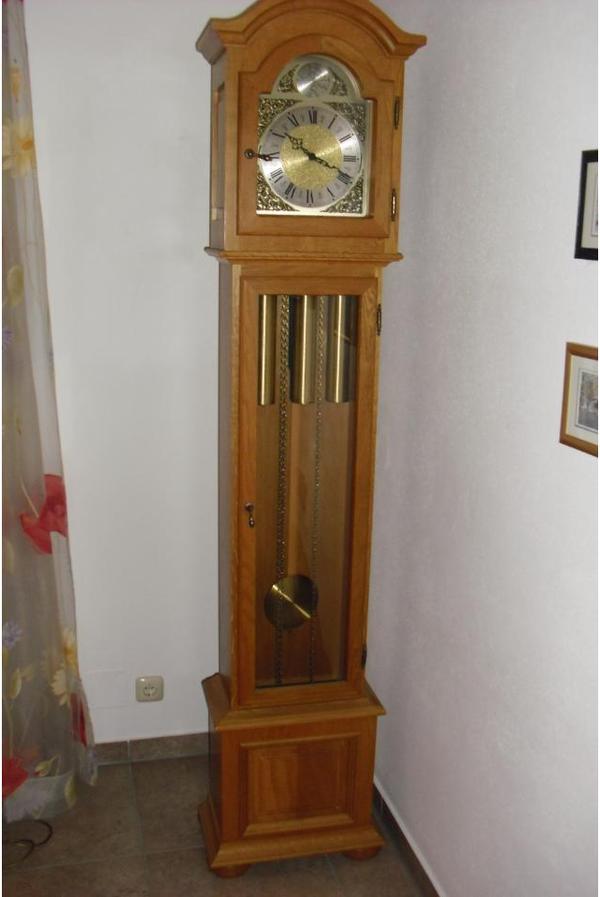 StandUhr u0026#39;Tempus Fugitu0026#39; Westminster-Schlag in Augsburg - Uhren kaufen und verkaufen u00fcber private ...