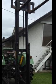Staplermast für Traktor