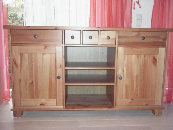 ikea norden anrichte kommode anrichte birke nachbildung with ikea norden anrichte anrichte. Black Bedroom Furniture Sets. Home Design Ideas
