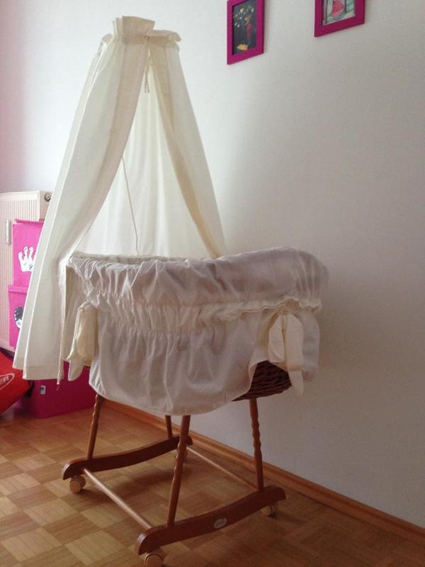 stubenwagen christiane wegner in lustenau wiegen babybetten reisebetten kaufen und verkaufen. Black Bedroom Furniture Sets. Home Design Ideas