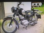 Suche Altes Motorrad