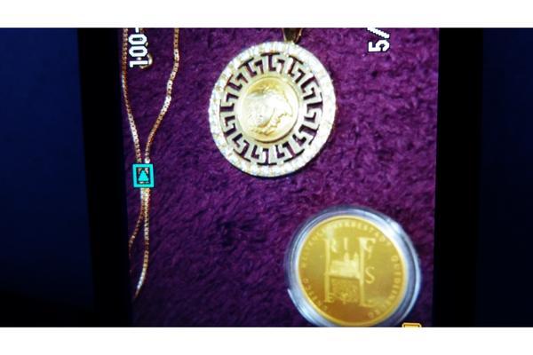 Suche anh nger gold von versace medicus in ballenstedt for Fenster 06188 landsberg