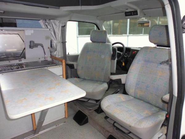 t4 campingbus oder kleines wohnmobil in schermbeck. Black Bedroom Furniture Sets. Home Design Ideas