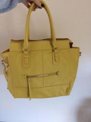 Tasche, Shopper, gelb