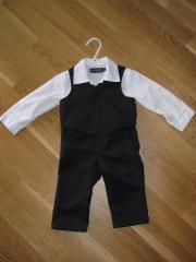 Baby anzug schwarz gebraucht kaufen nur 3 st bis 60 for Hochzeitsanzug baby junge