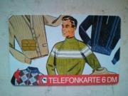 Telefonkarte 6 DM