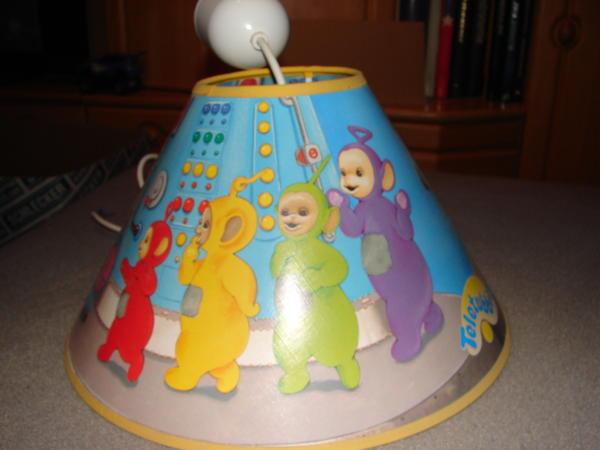 teletubbies zimmerlampe in gro bieberau baby und kinderartikel kaufen und verkaufen ber. Black Bedroom Furniture Sets. Home Design Ideas