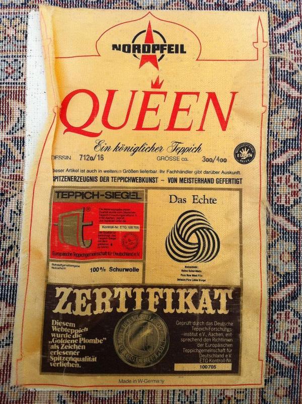 Teppich der Marke Nordpfeil QUEEN 300×400 NEU!! in