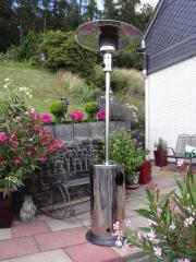 Terrassenstrahler, Terrassenheizgerät (für