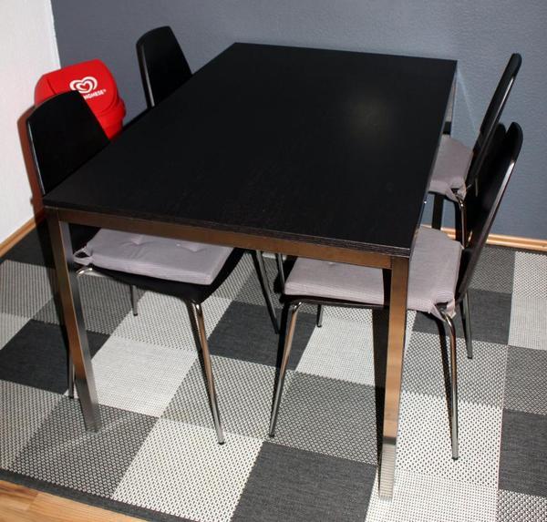 tisch torsby und 4 st hle vilmar von ikea sehr guter zustand in lbronn d rrn ikea m bel. Black Bedroom Furniture Sets. Home Design Ideas