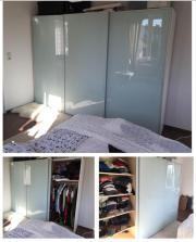 schwebet renschrank studio line wie ikea pax wei. Black Bedroom Furniture Sets. Home Design Ideas