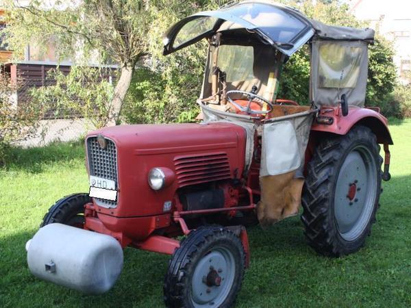 traktor g ldner linde g30s mit frontgewicht in walldorf. Black Bedroom Furniture Sets. Home Design Ideas