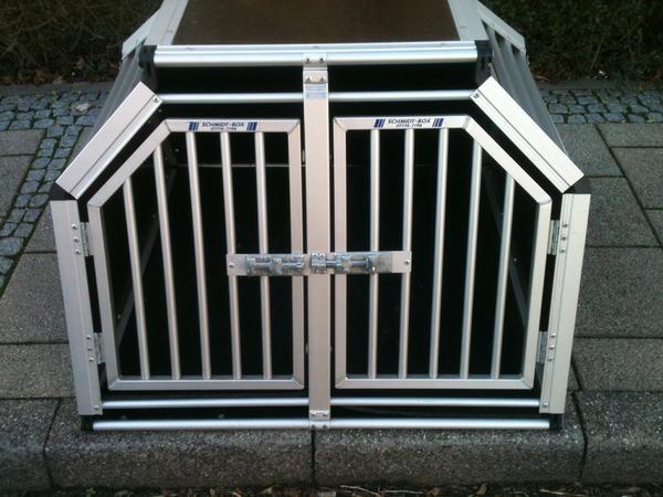 trennwand zur schmidt hundebox doppelbox mit zwei. Black Bedroom Furniture Sets. Home Design Ideas