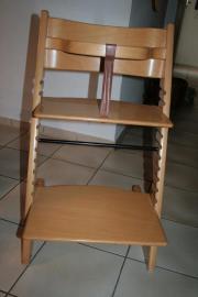 Tripp Trapp von Stokke Originall Stokke Tripp Trapp Hochstuhl aus Buchenholz mit Bügel und Lederband. Der Stuhl ist ... 40,- D-69168Wiesloch Heute, 13:16 Uhr, Wiesloch - Tripp Trapp von Stokke Originall Stokke Tripp Trapp Hochstuhl aus Buchenholz mit Bügel und Lederband. Der Stuhl ist