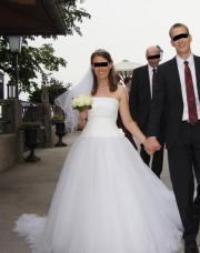 Tüll Hochzeitskleid