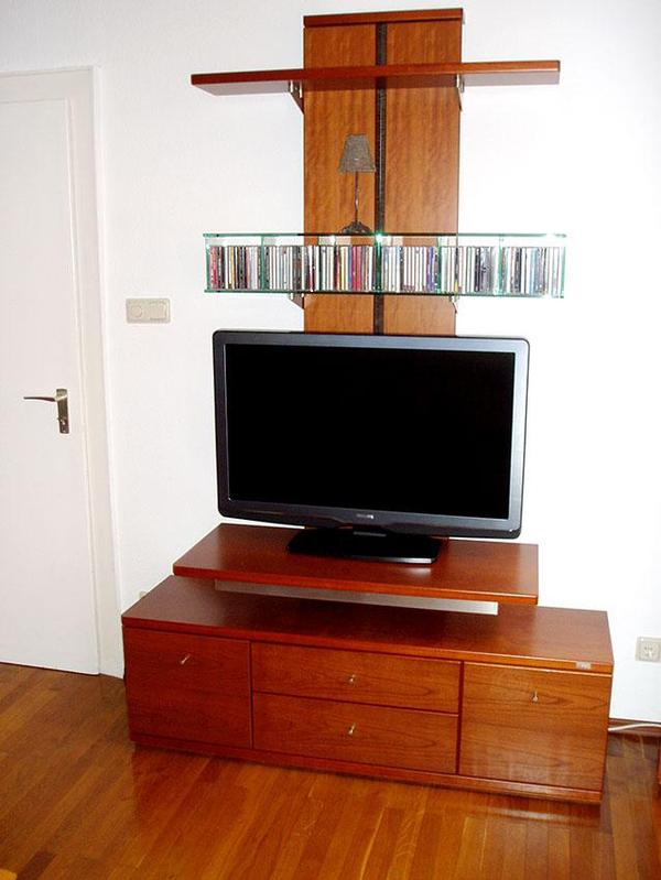 tv m bel h lsta kirsche in crailsheim phono tv. Black Bedroom Furniture Sets. Home Design Ideas