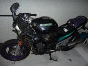 Unfall Suzuki GSX600F