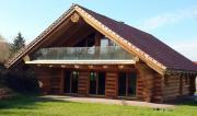 Urlaub im Naturstammholzhaus