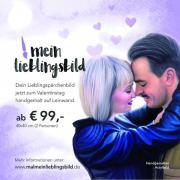 Valentinstag-Geschenk / Handgemaltes