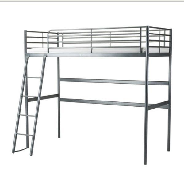 Ikea Schreibtisch Verlängerung ~ Verkaufe Ikea SVÄRTA Hochbett mit Schreibtisch in top Zustand
