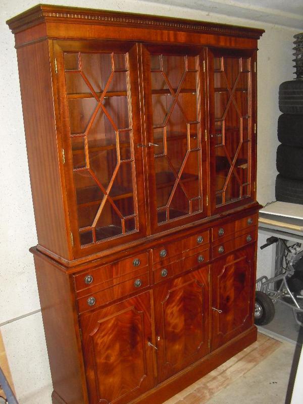 vitrinenschrank antik neu und gebraucht kaufen bei. Black Bedroom Furniture Sets. Home Design Ideas