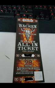 Wacken Ticket 2017