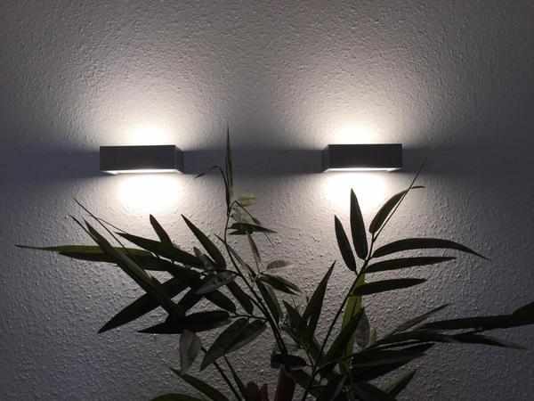 wandleuchte alu geb rstet in mannheim lampen kaufen und. Black Bedroom Furniture Sets. Home Design Ideas