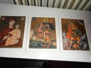 Wandteller und Wandkacheln,