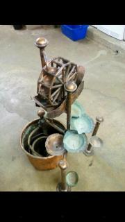 Wasserspiel aus Kupfer