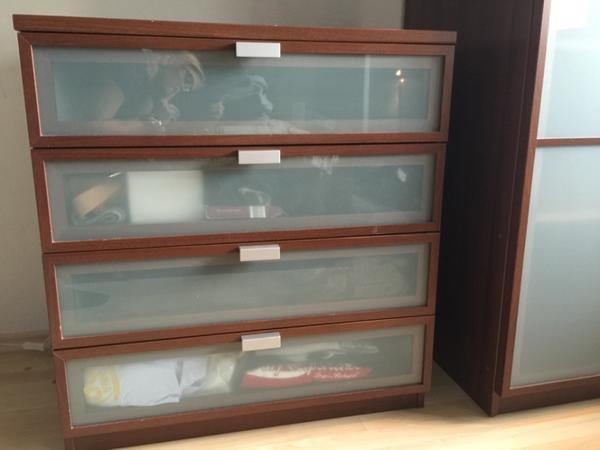 wegen umzug kommode ikea hopen zu verkaufen passender schrank vorhanden in m nchen schr nke. Black Bedroom Furniture Sets. Home Design Ideas