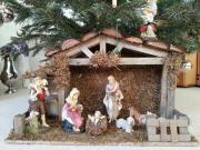 Weihnachtskrippe aus Holz