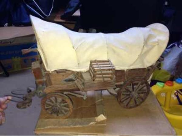 Western planwagen holz in frankfurt dekoartikel kaufen for Dekoartikel frankfurt
