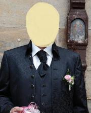 Wilvorst Hochzeitsanzug Schokkobraun