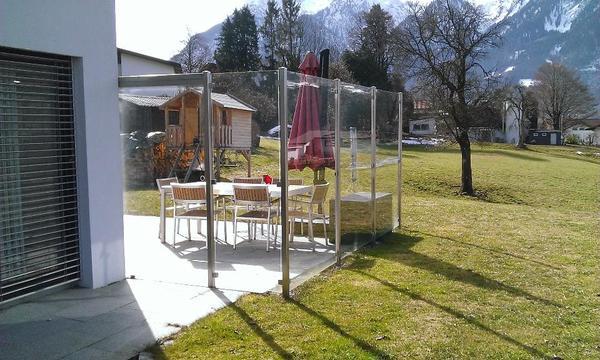 Glaswand Fur Den Garten : , Glaswand mit Schiebetüre in Nüziders  Sonstiges für den Garten