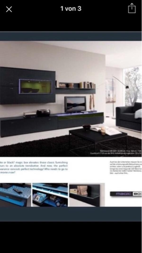 design wohnwand kaufen gebraucht und g nstig. Black Bedroom Furniture Sets. Home Design Ideas