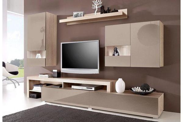 hochglanz braun kaufen gebraucht und g nstig. Black Bedroom Furniture Sets. Home Design Ideas