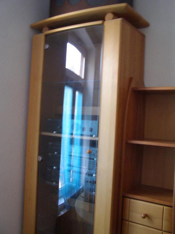 wohnzimmerwand schrankwand anbauwand wohnwand sideboard in karlsruhe wohnzimmerschr nke. Black Bedroom Furniture Sets. Home Design Ideas